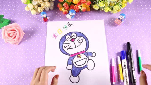 曲洲老师画卡通:少儿简笔画—面包店