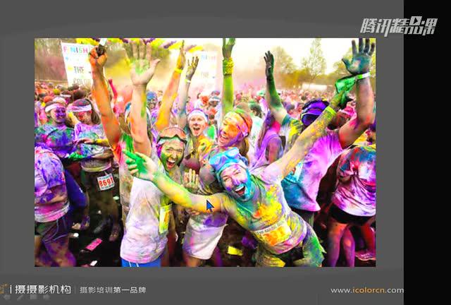 【摄影教程】2015深圳彩跑拍摄教程