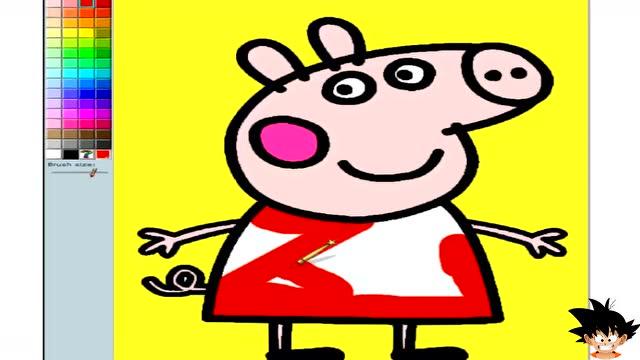 小猪佩奇涂鸦小游戏 粉红猪小妹