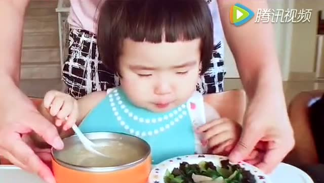 可爱的外国小朋友学说中文