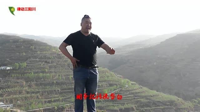 天水民间秦腔花脸王高博-三对面