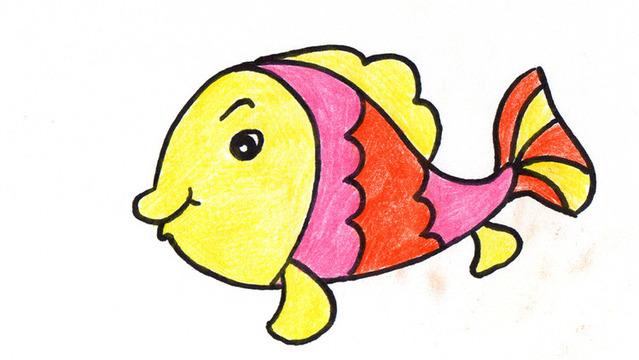 小金鱼纸盘手工制作图片