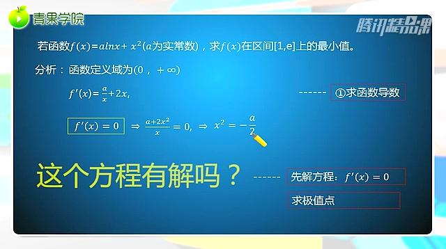 高中数学 用导数处理函数的最值