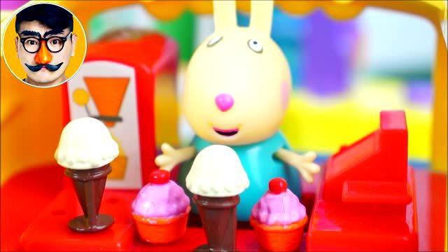 少儿动画 小猪佩奇 107 小马佩德罗咳嗽了 粉红猪小妹 佩佩猪