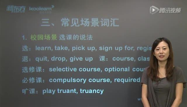 新东方 六级听力词汇