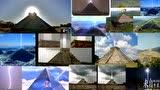 从金字塔射向天际的神秘光束(发给外星人的信号?)的图片