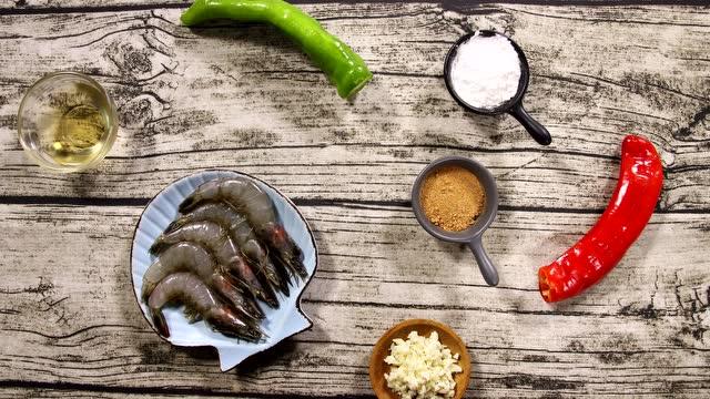 大厨教你学做菜 年夜饭系列之椒盐大虾 寓意红红火火