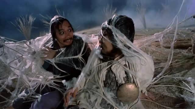大話西游里周星馳吳孟達演的這段我看了無數次每次都笑的不行圖片