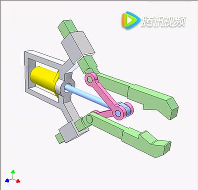 robot gripper 4機器人夾子設計