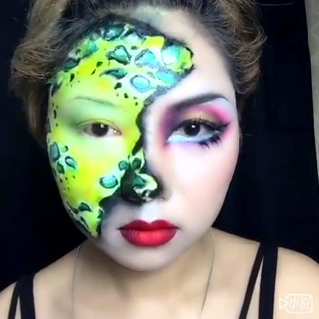 shane淘子创意彩妆 撕裂5