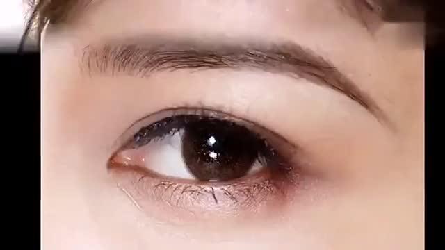 女的小山眉面相_俞飞鸿眉眼仿妆—小山眉