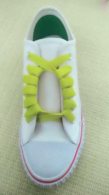 幾款彰顯個性的鞋帶系法圖片