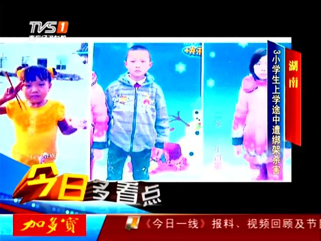 湖南岳阳三姐弟上学_湖南三姐弟上学途中遭绑架遇害 歹徒手段残忍_新闻_腾讯网