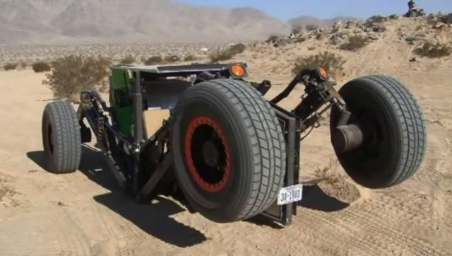 超酷的全地形拖拉机 没有什么路可以阻挡它