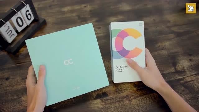 小米CC9与小米CC9美图定制版开箱上手对比,两者有什么区别