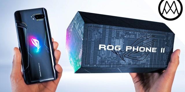 世界上最快的手机,华硕ROG游戏手机2开箱评测