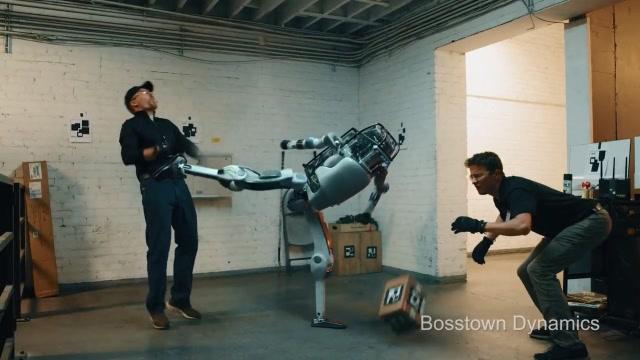 波士顿机器人已经如此智能?这是假的吧?
