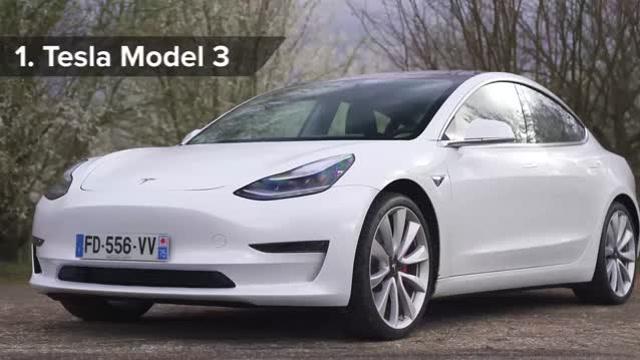 世界十大安全汽车,TeslaModel3独占鳌头