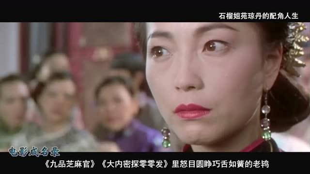 操死姐电影_《电影成名录》石榴姐苑琼丹的配角人生