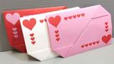 可以用信纸直接折出来的信封,不用再单独买信封了